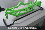 EVO 1-3 Racefab 22mm Rear Swaybar To Suit Our Subframe