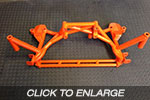 EVO 1-3 Racefab Chromoly Front Subframe to suit EVO 4-6 Engine and Trans Conversion