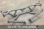 EVO 1-3 Racefab Chromoly Rear Subframe To Suit EVO 5-9 RS Diff
