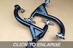 EVO 1-3 Racefab Chromoly Rear Top Arms To Convert To EVO 4-9 Rear Suspension Setup