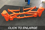 EVO 4-6 Racefab Chromoly Rear Subframe To Suit RS Diff