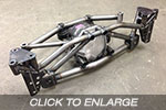 EVO 4-6 Racefab Chromoly Rear Subframe To Suit Supra Diff