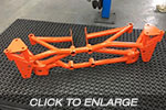 EVO 7-9 Racefab Chromoly Rear Subframe To Suit RS Diff
